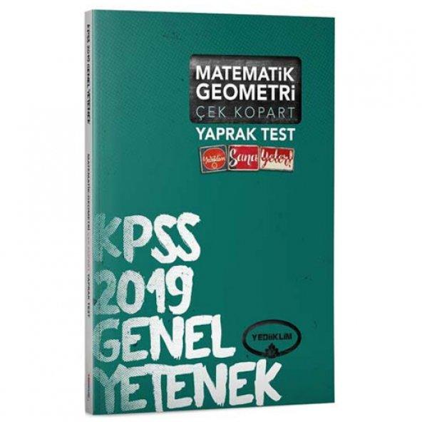 Yediiklim Kpss Gk Coğ Çek Kopart Yaprak Test 2019 - Yediiklim Yayınları