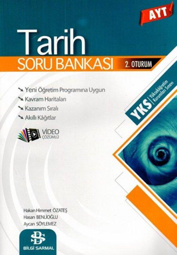 Ayt  Tarih  Soru Bankası - Bilgi Sarmal Yayınları