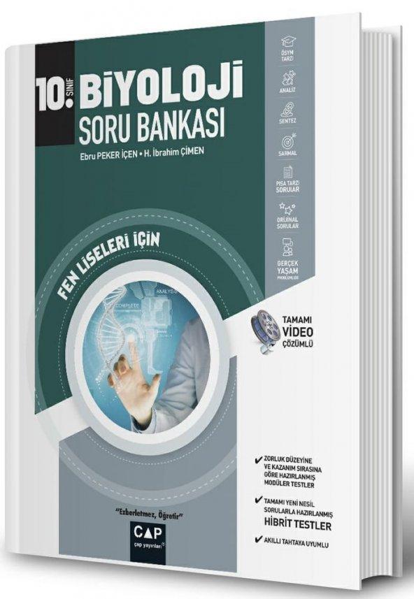 10.Sınıf Fen Lisesi Biyoloji S.B - Çap Yayınları