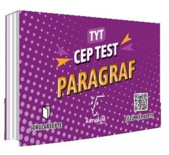 TYT Cep Test Paragraf - Karekök Yayınları