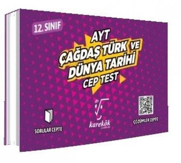 AYT Cep Test Çağdaş Türk Ve Dünya Tarihi - Karekök Yayınları