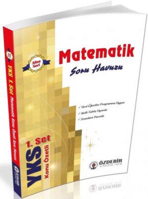 ALTIN SERİ TYT MATEMATİK YAPRAK TEST - Özdebir Yayınları