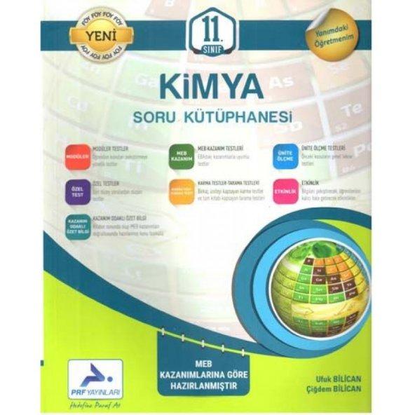 11. Sınıf Kimya Soru Kütüphanesi Prf - Paraf Yayınları