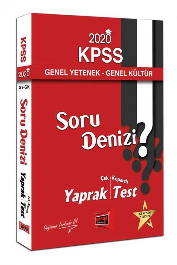 Yargı 2020 KPSS Genel Yetenek Genel Kültür Soru De - Yargı Yayınları