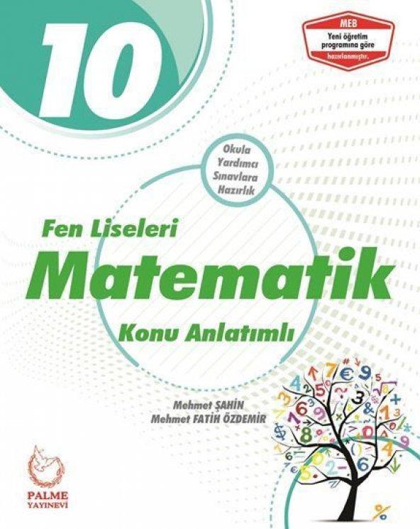 Palme 10.Sınıf Fen Liseleri Matematik Konu Kitabı  - Palme Yayınları