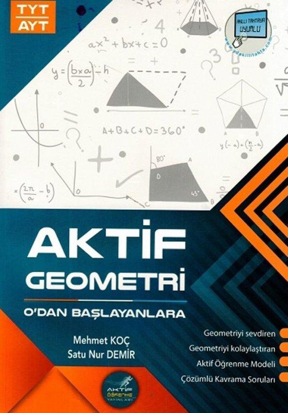 Sıfırdan Başlayanlara Aktif AYT TYT Gemometri - Aktif Yayınları