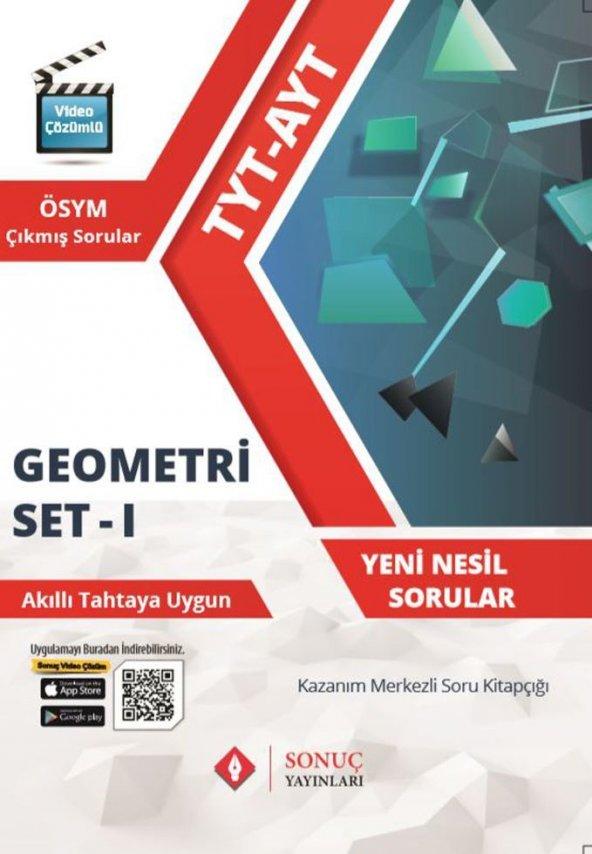 TYT AYT Geometri Seti 1 - Sonuç Yayınları
