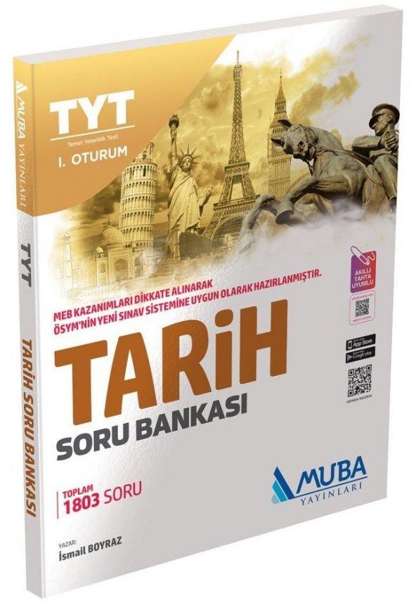 Muba Tyt 1. Oturum Tarih Soru Bankası - Muba Yayınları