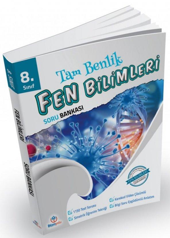 8. Sınıf Tam Benlik Fen Bilgisi Soru Bankası - Bilimyolu Yayınları