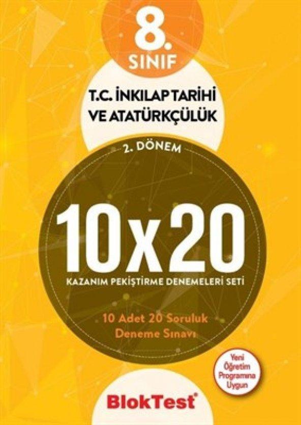 8. SINIF INKILAP TARİHİ 10X20 DENEME - Tudem Yayınları