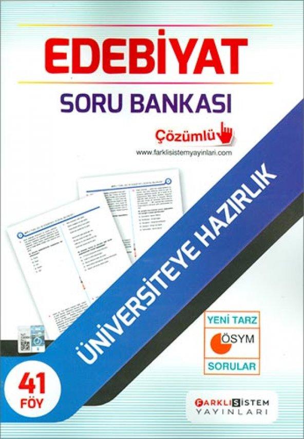 Farklı Sistem Ayt Edebiyat Soru Bankası - Farklı Sistem Yayınları