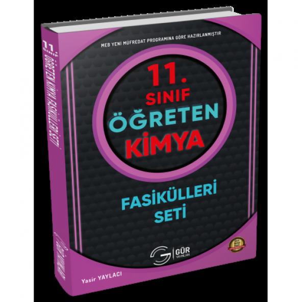 11.Sınıf Öğreten kimya Seti - Gür Yayınları