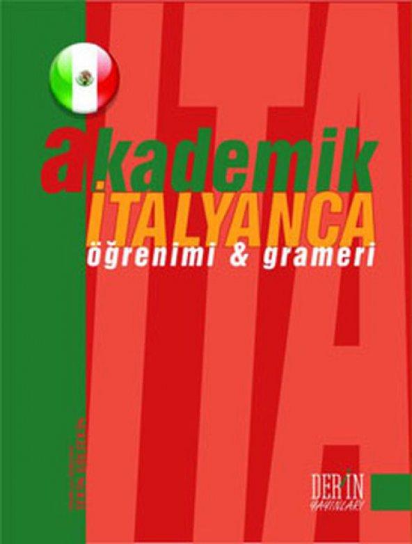 Akademik İtalyanca Öğrenimi Ve Grameri  -Derin - Derin Yayınları