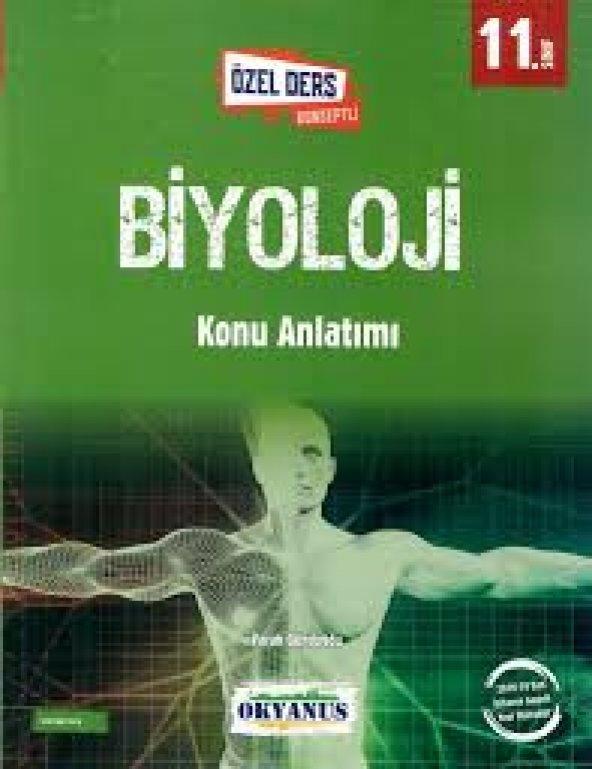 11.Sınıf Biyoloji Ders Konseptli Konu Anlatımı - Okyanus Yayınları