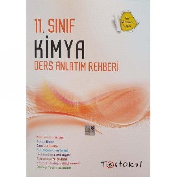 11.Sınıf Ders Anlatım Rehberi - Kimya - Test Okul Yayınları