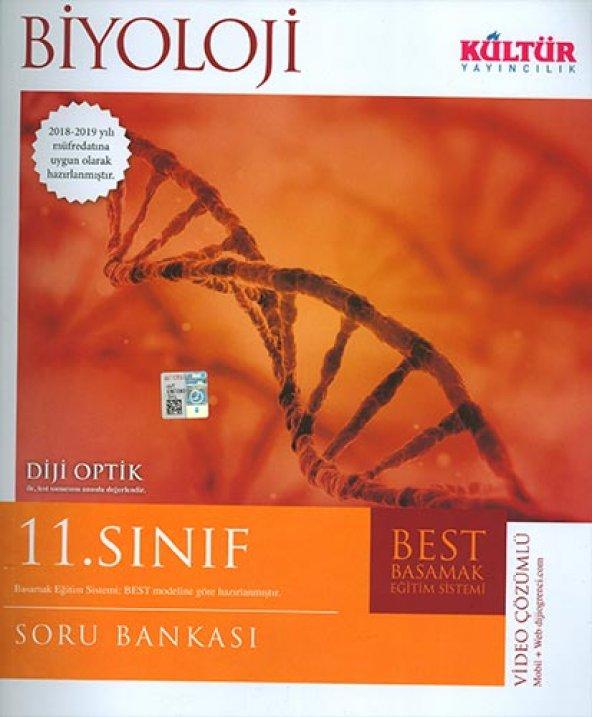 Kültür 11.Sınıf Biyoloji Soru Bankası - Kültür Yayınları