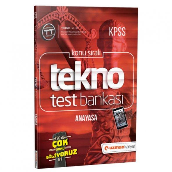 2019 Kpss Tekno Anayasa Dijital Test Bankası - Uzman Kariyer Yayınları