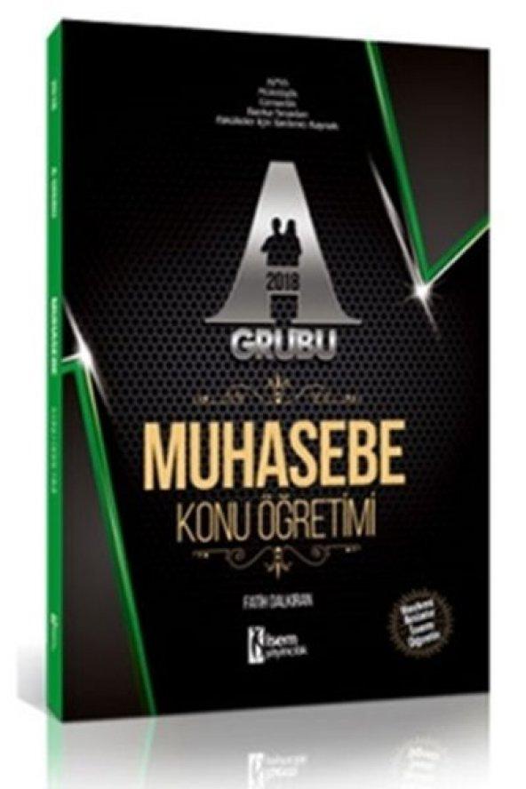 2018 Kpss A Grubu Muhasebe Konu Öğretimi  - 657 Yayınevi