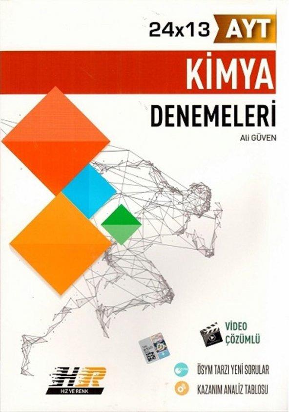 AYT KİMYA DENEMESİ - Hız Ve Renk Yayınları