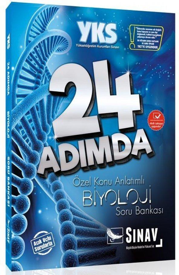 Sınav Yks 24 Adımda Biyoloji Soru Bankası - Sınav Yayınları