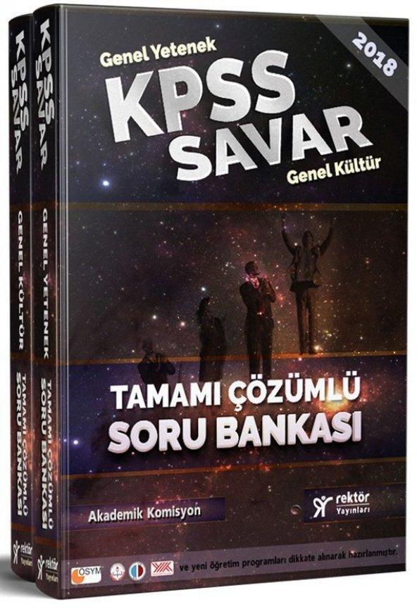 2018 Kpss Savar Genel Yetenek Genel Kültür Tamamı - Rektör Yayınları