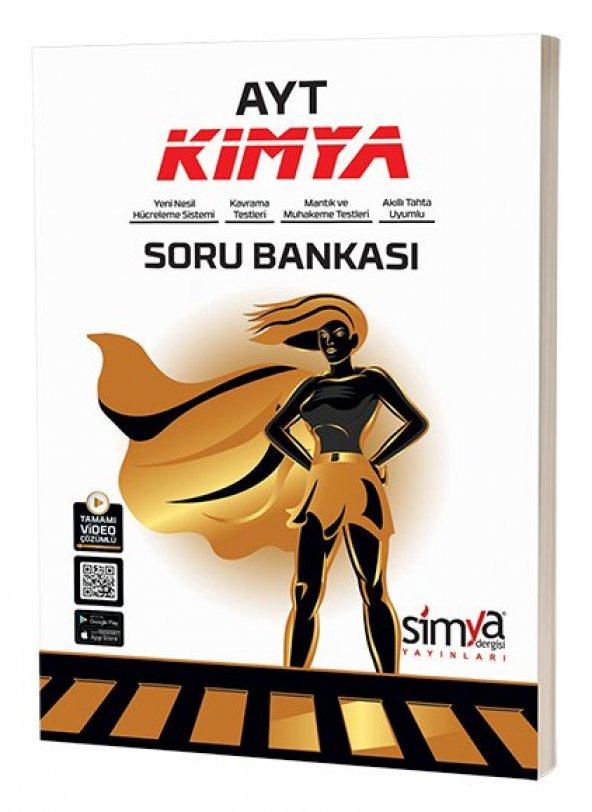 AYT Kimya Soru Bankası Tamamı Video Çözümlü - Simya Yayınları