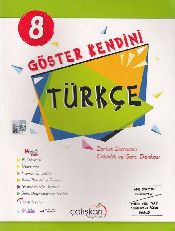 8.Sınıf Göster Kendini Soru Bankası Türkçe - Çalışkan Yayınları