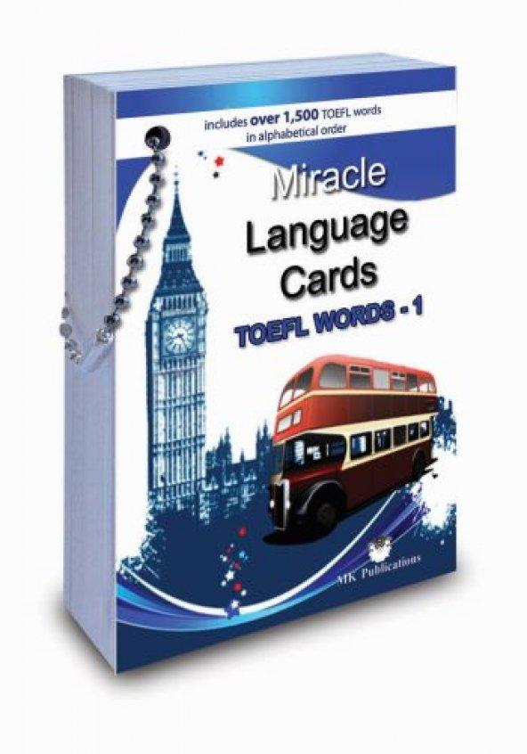 Miracle Language Cards İngilizce Dil Kartları - Mk Publications