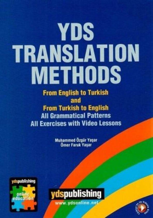 Yds Translation Methods - Ydspublishing Yayınları