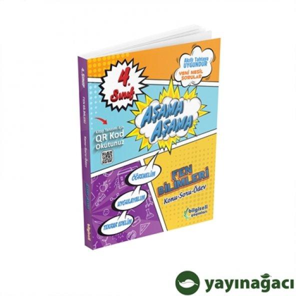 4.Sınıf Fen Bilgisi Aşama Aşama - Açı Yayınları