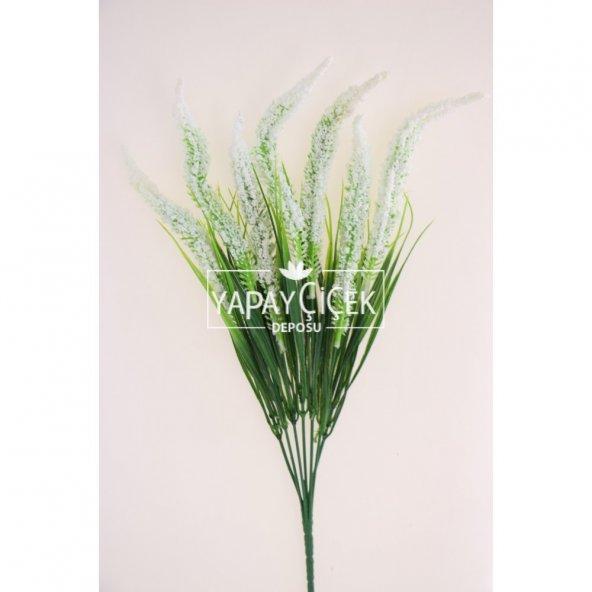 Yapay Çiçek (Beyaz Cipsolu Arjantin Demeti)