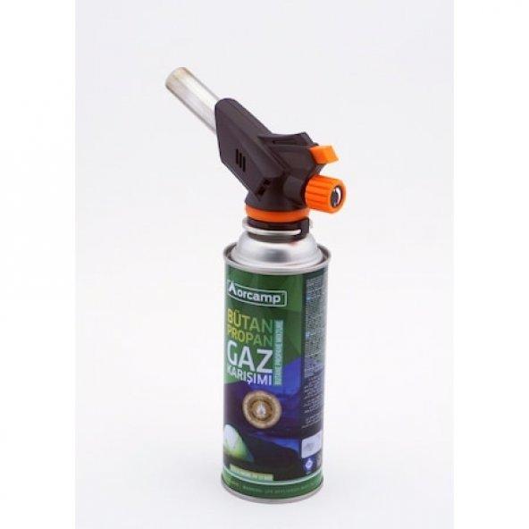Orgaz CX-500 Çakmaklı Pürmüz Set, Başlık + Tüp 2li Set