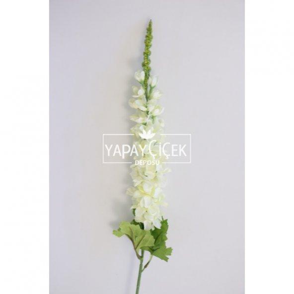 Yapay Çiçek Uzun Dal İnce Şebboy 84 cm Beyaz