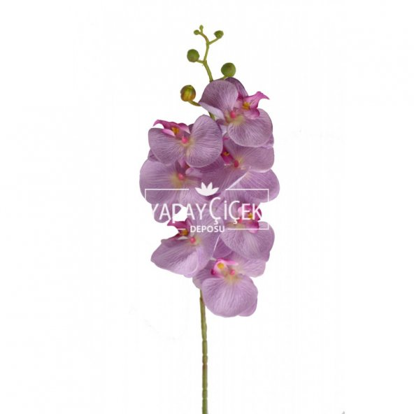 Yapay Dal Orkide Çiçeği 75 cm Lila