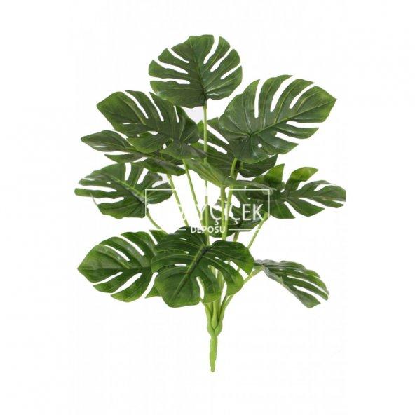 Yapay Lüx Deve Tabanı Bitkisi 40 cm Yeşil