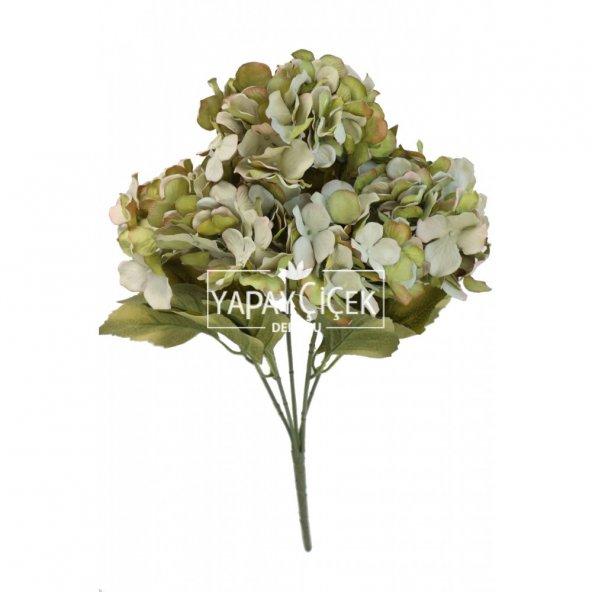 5 Dal Lux Pastel Ortanca Demeti Yeşil