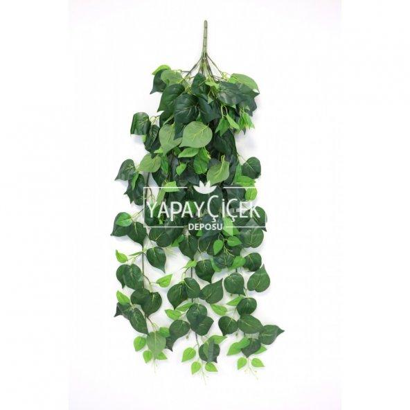 Islak Dokulu Yapay Kaliteli Dev Sarmaşık 125 cm Yeşil