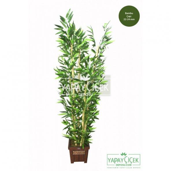Yapay Bambu Ağacı 6 Gövde 140 cm (Model8)