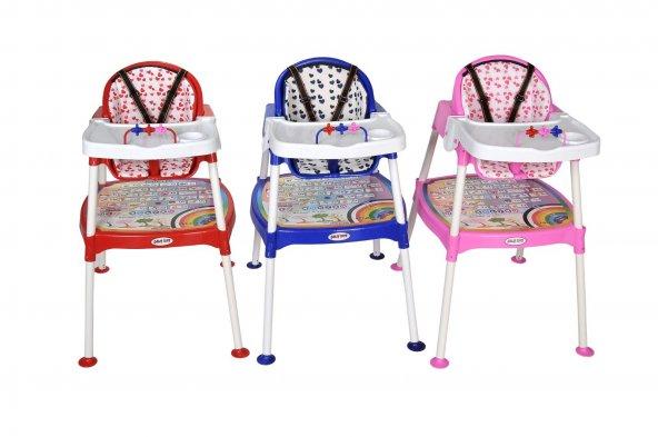 Xmamma 3 In 1 Multi Mama Sandalyesi-Çalışma Masalı Mama Sandalyesi