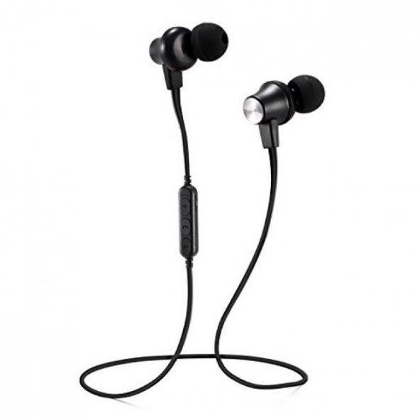 Wireless MS-T14 Mıknatıslı Kablosuz Bluetooth Mikrofonlu Kulaklık
