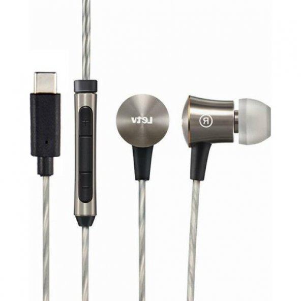 LeTV LU50609 Metal Kulakiçi Mikrofonlu Type-C Kulaklık
