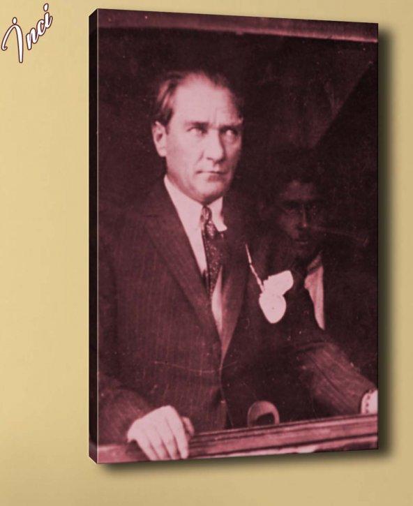 ata-69 Atatürk Kanvas Tablo
