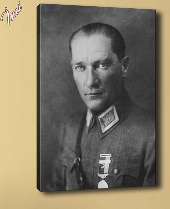 ata-63 Atatürk Kanvas Tablo