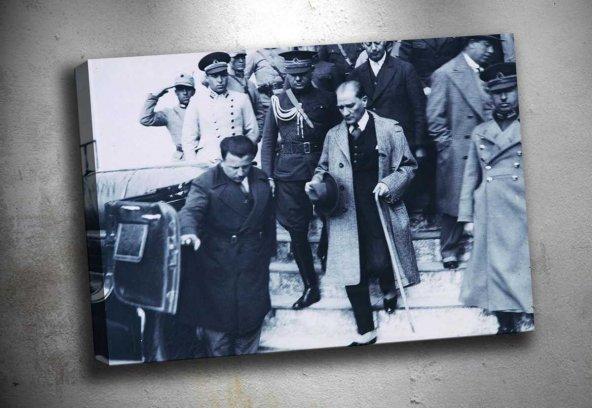 ata-58 Atatürk Kanvas Tablo