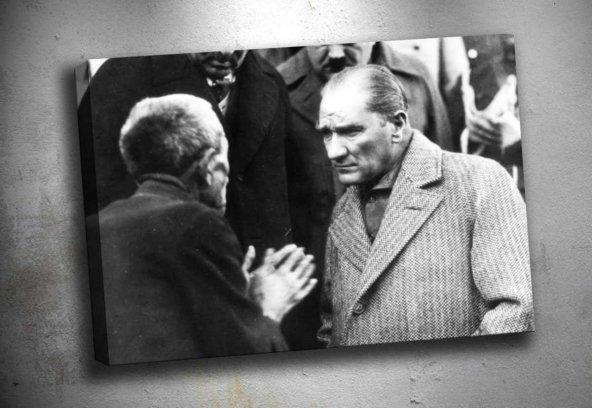 ata-31 Atatürk Kanvas Tablo