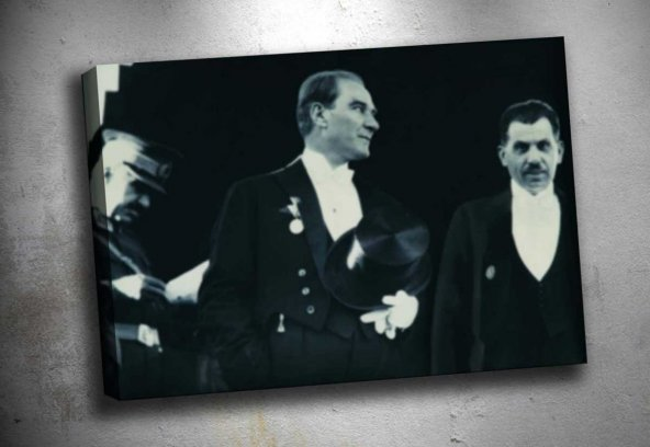 ata-104 Atatürk Kanvas Tablo