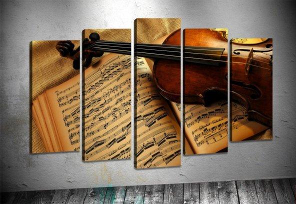 zb246 5 Parçalı Tablo Violin