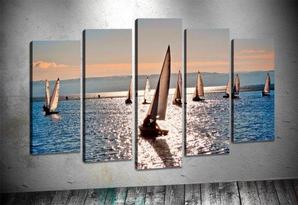 yn130 Rüzgar Sörfçü 5 Parça Tablo