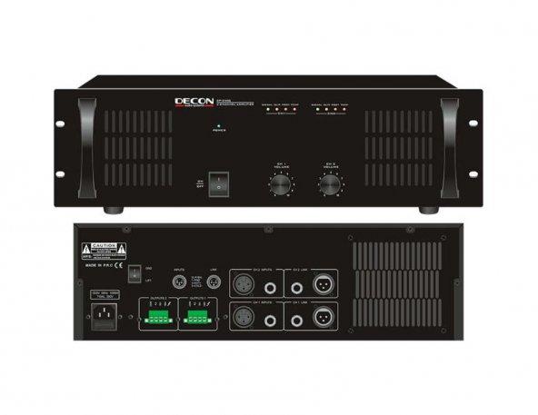 DP-2500 Power Amfi   DECON