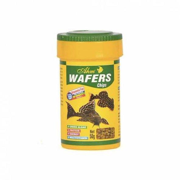 AHM Wafers Chips Çöpçü Vatoz Dip Balık Yemi 250 ml